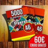 5000 Flyers a6 - foto