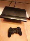 se vende PS3 con juegos y guitarra - foto