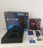 PS4 PRO+2 mandos+6 juegos +cascos gaming - foto