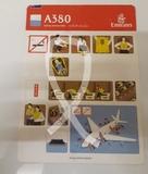 Carta Seguridad Avión Airbus A380 - foto