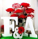 Letras y decoraciones en corcho - foto