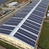 EnergÍa solar. placas solares. - foto