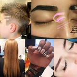 uñas, cabello,cejas,pestañas,facial, etc - foto
