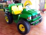 JOHN DEERE Gator 4x2 12V ruedas goma - foto