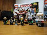 Persecución en la ciudad lego Ninjago. - foto