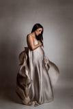 sesión de fotos de embarazo en estudio - foto