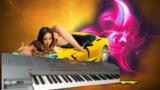 PIANO digital KORG IS50+ Maleta+soporte - foto