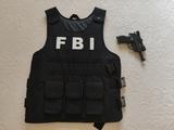 Disfraz del FBI - foto