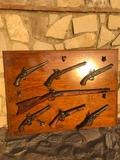 Tablero armas decorativas - foto