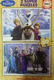 Puzzle Educa Frozen 2 de 2 x 50 Piezas - foto
