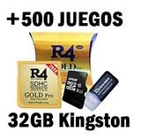 Cartuchos R4 +32GB-5OO Juegos Nintendo - foto