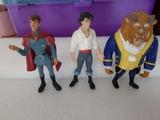 Lote 3 figuras príncipes - foto