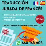 Traducción jurada de francés - foto