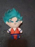 peluche Goku super Saiyan dios - foto