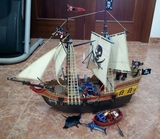 playmobil barco lote pirata - foto