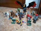 Playmobil lote guerreros y dragón - foto