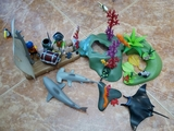 Playmobil naufragos piratas - foto