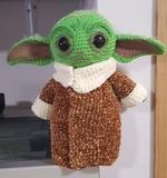 Muñeco Amigurumi inspiración Baby Yoda - foto