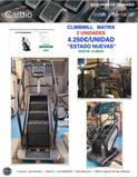 CLIMBMILL  MATRIX SUBE  ESCALERAS - foto