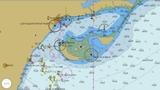 Navegador plotter náutico - foto
