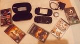 psp con todos los accesorios más 5 juego - foto