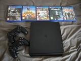 PS4 500g+5 juegos - foto