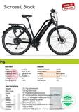 BICI ELECTRICA ECOBIKE S CROSS L BLACK - foto