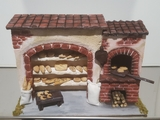Panadería para Belén de Navidad - foto