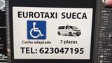Eurotaxi Sueca Adaptado Silla de Ruedas - foto