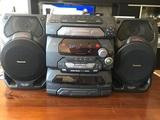 Cd stereo system sa-ak17 - foto