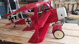 avion aeromodelismo fokker baron rojo - foto