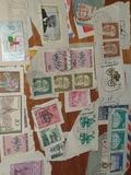 colección de sellos de todo el mundo - foto