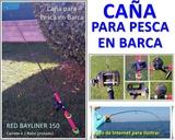 CAñA Y CARRETE DE PESCA EMBARCACIóN
