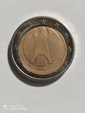 Moneda 2  Ceca A Alemania 2002 c/defecto - foto