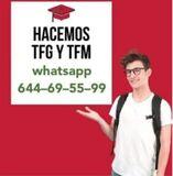 PRECIOS ECONÓMICOS TFG-TFM-PRÁCTICAS - foto