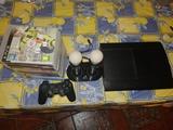 Play 3 500GB + mando + juegos - foto