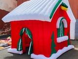 alquiler caseta papá Noel - foto