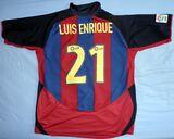 CAMISETA LUIS ENRIQUE FC BARCELONA - foto