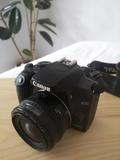 cámara réflex con 3 objetivos - foto
