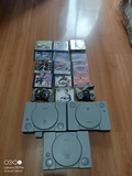 3 PS One playstation SCPH9002 /2mandos - foto