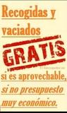 Recogida de Madera vaciado de pisos - foto