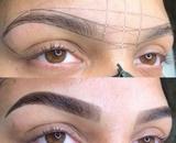 diseño cejas henna y micropgimentación - foto