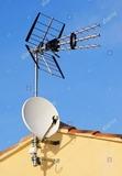 Mastil para antena de tv - foto