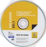 Mapa DVD para navegador Renault Carminat - foto