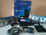 PS4 pro 1tb, 6 juegos y 2 mandos. - foto