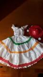 Vestido folklorico de Barbie Mattel - foto