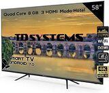 """Smart TV 58\"""" Led 4K TD Systems K58DLJ10 - foto"""