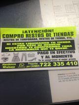 SE. COMPRA. . RESTOS. DE. TIENDAS - foto