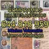 · Pagamos Billetes antiguos Tasamos al i - foto