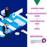 DisrÑo web - gestiÓn redes sociales - foto